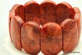 Schitterende Armband Bloedrode koraal A2106_214 _