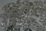 Bergkristal Split Kralen, ca 85/90sts, AAA Bergkristal K543_