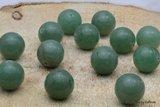 12 stuks Reuze kraal groene Aventurijn 16 mm K539_