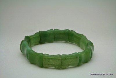 Mooie Power Armband van  Groene Aventurijn A1388
