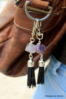Amethyst tassen hanger Helpt je bij Hoofdpijn en Migraine T138