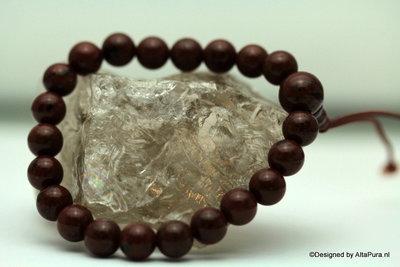 Top armband van mahonie  jaspis (A489) 206