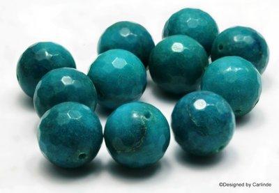 8 Schitterende mooie grote 20mm l blauw agaat kralen K398