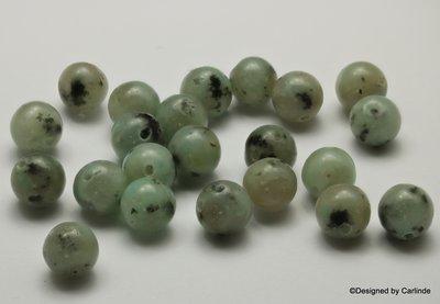 Mooie groen/grijs getinte Dalmatiër Jaspis  K2315