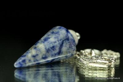 Meerkleurige Pendel van Blauwe Sodaliet A842