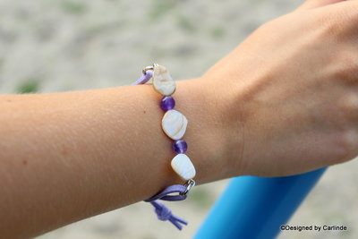 Strong Purple lavender Bracelet A1377