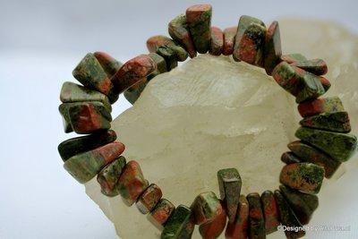 Mooie  Multi colour Grand Super Split Armband van  Unakiet A2015