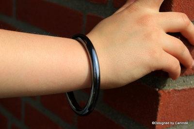 Krachtig Power armband van Zilver Hematiet A2230