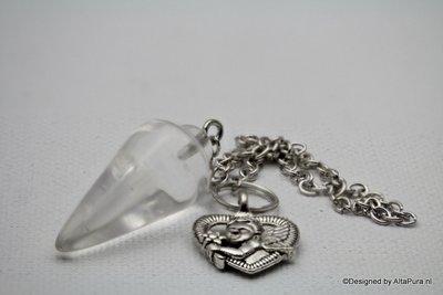 100% zuivere Bergkristal (collier)Pendel  P116