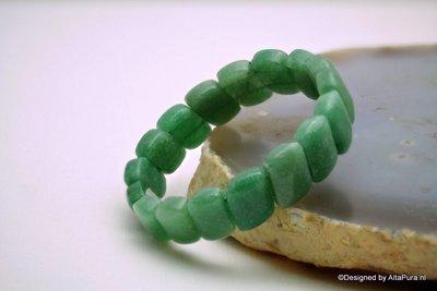 Mooie  Armband van  Groene Aventurijn A1309