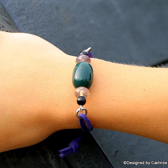 Strong Purple Rain Bracelet A1371