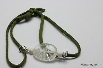 Mooi Armband met Bergkristal   A2260