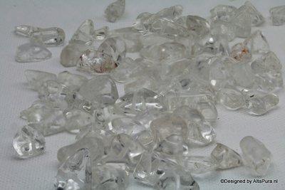 Bergkristal Split Kralen, ca 85/90sts, AAA Bergkristal K543